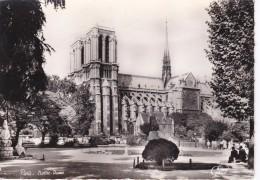 POSTAL DE PARIS DE NOTRE-DAME DEL AÑO 1962 (GANY) (FRANCIA-FRANCE) - Notre Dame De Paris