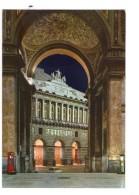 Q2381 CARTOLINA Di NAPOLI, Notturno Della Galleria Umberto I E Teatro San Carlo _ NON VIAG. _  Theatre, Theater, Nuit - Napoli