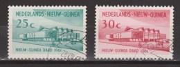 Nederlands Nieuw Guinea Dutch New Guinea 67 - 68 Used ; Nieuw Guinea Raad 1961 - Niederländisch-Neuguinea