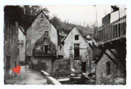 07833-LE-12-SAINT-GENIEZ-D'OLT-Vieilles Maisons Du Baribès-------animée - Altri Comuni