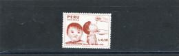 PEROU Peru 1987 Y&T 863** - Peru