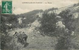 Cpa, Cormeilles En Parisis, Les Ruines - Cormeilles En Parisis