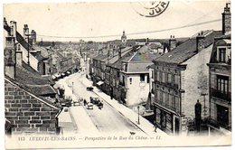 CPA 70 ( Haute Saone )  - LUXEUIL Les BAINS - Perspective De La Rue Du Chene - Luxeuil Les Bains