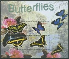 Tuvalu 2003 Schmetterlinge Kleinbogen 1138/41 K Postfrisch (C26948) - Tuvalu (fr. Elliceinseln)