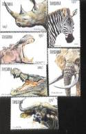 TANZANIA   1868-3 MINT NEVER HINGED SET OF STAMPS ANIMALS - WILDLIFE - Unclassified