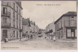 EPINAL : RUE BOULAY DE LA MEURTHE - TRAMWAY - CAFE DE LA PASSERELLE - 2 SCANS - - Epinal