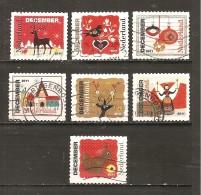 Holanda-Holland  Nº Yvert  2858-64, 2866 (Usado) (o) - Periodo 1980 - ... (Beatrix)