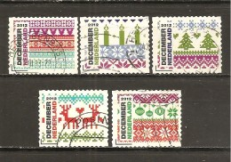 Holanda-Holland  Nº Yvert  2979-81, 2985-2987 (Usado) (o) - Periodo 1980 - ... (Beatrix)
