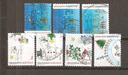 Holanda-Holland  Nº Yvert  3095-96, 3098-99, 3101, 3103-04 (Usado) (o) - Periodo 1980 - ... (Beatrix)