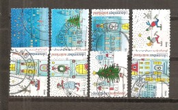 Holanda-Holland  Nº Yvert  3105, 3107-10, 3112-14 (Usado) (o) - Periodo 1980 - ... (Beatrix)