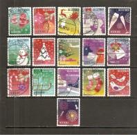 Holanda-Holland  Nº Yvert  3219-23, 3225-30, 3232-36, 3238 (Usado) (o) - Periodo 1980 - ... (Beatrix)