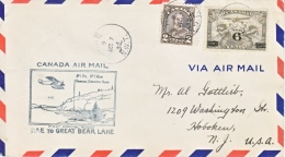 CANADA  FIRST  FLIGHT - First Flight Covers