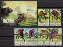 Cuba 2016 / Fauna Mammals Rodents MNH Mamiferos Jutias Säugetiere / C11936  1 - Roedores