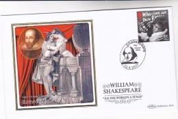 2011 GB Ltd Edition SILK FDC  IAN McKELLEN Stamps Special Pmk SHAKESPEARE WAY FELTHAM  Theatre - FDC