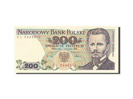 Pologne, 200 Zlotych, 1974-1976, KM:144c, 1988-12-01, NEUF - Pologne