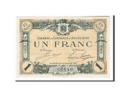 France, Angoulême, 1 Franc, 1915, TTB+, Pirot:9-11 - Chamber Of Commerce