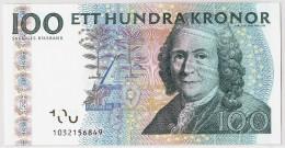 Suède, 100 Kronor, 2001, KM:65a, Undated, NEUF - Suecia