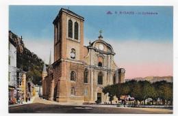 SAINT CLAUDE - N° 16 - LA CATHEDRALE - CPA NON VOYAGEE - Saint Claude