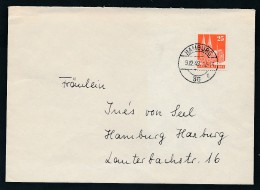 Zonen - Brief Hamburg  EF  87 Eg !  (g848  ) Siehe Scan - Zona Anglo-Americana