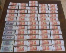 RUSSIA Unc BANKNOTES Big Lot PRIKOLOV BANK 5000 ODESA,1000 MAVRODI - Russia