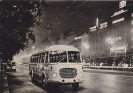 Bus Autobus Skoda 706 RTO Real Photo Postcard - Bus & Autocars