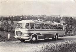 Bus Autobus Skoda 706 RTO Real Photo Postcard Vysoke Myto 1966 - Bus & Autocars