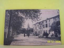 LABRUGUIERE (TARN) ENTREE DE LA VILLE AU BOUT DU PONT.      020PM - Labruguière