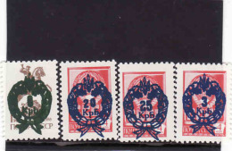 Ukraine 1992**, Local Issues. Surcharge On Soviet Stamps, Mint, MNH** - Ukraine