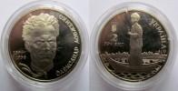 "Ukraine - 2 Grivna Coin 2004 ""Olexander Dovzhenko"" UNC - Ucraina"