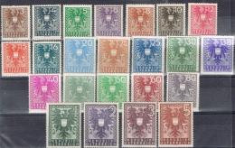 K 778 LOT OOSTENRIJK  XX + X  YVERT NRS 577/599   ZIE SCAN - Collections