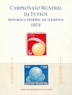AT3341 Chile 1974 World Football Cup Proof MNH - 1974 – Germania Ovest