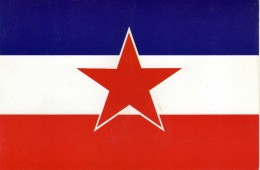 Flags.Flag Yugoslavia - Postcards