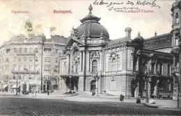 [DC2997]CPA - UNGHERIA - BUDAPEST LUSTSPIEL THEATER - Viaggiata - Old Postcard - Ungheria