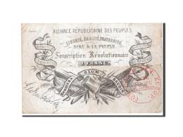 France, Alliance Républicaine Des Peuples, 1 Franc, 1852, Pick UNL - ...-1889 Tijdens De XIXde In Omloop