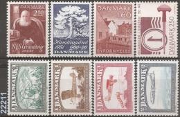 YT 740-741-742/45-774-793 ** - VC 9.25 Eur. - Danemark