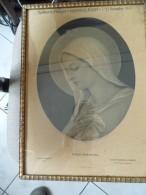 Cadre Religieux - Virgo Purissina - Cambrai - Souvenir De Mission 7-21 Nov 1937 Saint Souplet  59  - A Voir - Religion & Esotérisme