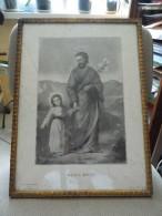 Cadre Religieux - Allez A Joseph - Collection Hamann - Amiens  - A Voir - Religion & Esotérisme