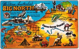 Western Australia's Big North - Midge MDS GEN 001 Unused - Australia