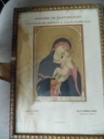 Cadre Religieux - Notre Dame De Grace - Souvenir De Mission  1937 - Saint Souplet  - Cambrai  - 59 - Abimé - A Voir - Religion & Esotérisme