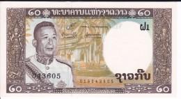 BILLETE DE LAOS DE 20 KIP DEL AÑO 1963 (BANKNOTE) SIN CIRCULAR-UNCIRCULATED - Laos