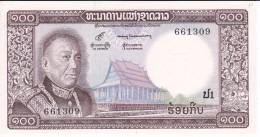 BILLETE DE LAOS DE 100 KIP DEL AÑO 1974 (BANKNOTE) SIN CIRCULAR-UNCIRCULATED - Laos
