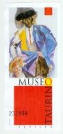 Spanien Eintrittskarte Taurino Mueum Sevilla Torrero - Tickets - Vouchers