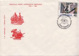 Yugoslavia Firemen Cancel On Cover - Firemen