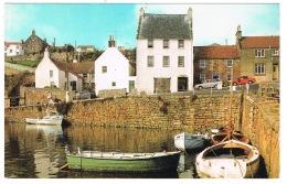 RB 1099 - Postcard - Customs House - Crail Harbour - Fife Scotland - Fife