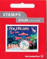 New Zealand 2008 Scenic: Underwater Reefs $1 Mint Booklet - Booklets