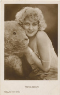 Xenia Desni Silent Movie Actress Born In Kiev Ukraine Dead In Roquefort Les Pins France 06 Teddy Bear Ours Peluche Ross - Artistas