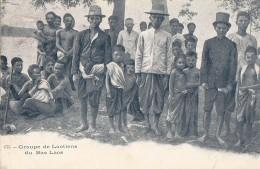 Asie - Laos - Bas Laos - Groupe De Laotiens - 1903 - Laos
