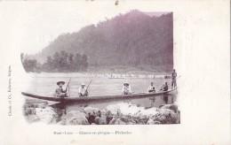 Asie - Laos - Haut Laos - Chasse En Pirogue - Pêcheries - Laos