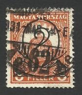 Hungary, 2 F. On 3 F. 1931, Sc # 450, Mi # 471Y, Used - Hungary