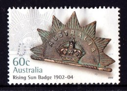Australia 2012 Rising Sun Badge 60c 1902-4 Used - 2010-... Elizabeth II